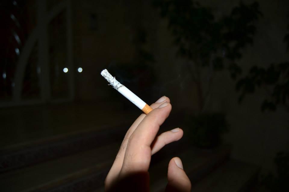 Smokers during Ramadan