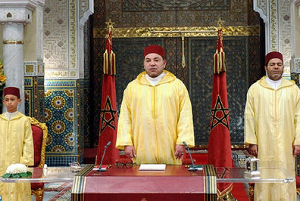 King Mohammed VI deliver a speech on the occasion of the Throne Day