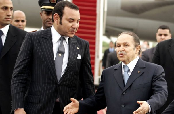 King Mohammed VI with Abdelaziz Bouteflika
