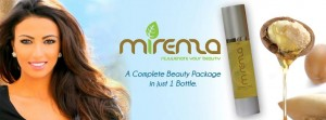 Mirenza, an Argan-oil based skin care product