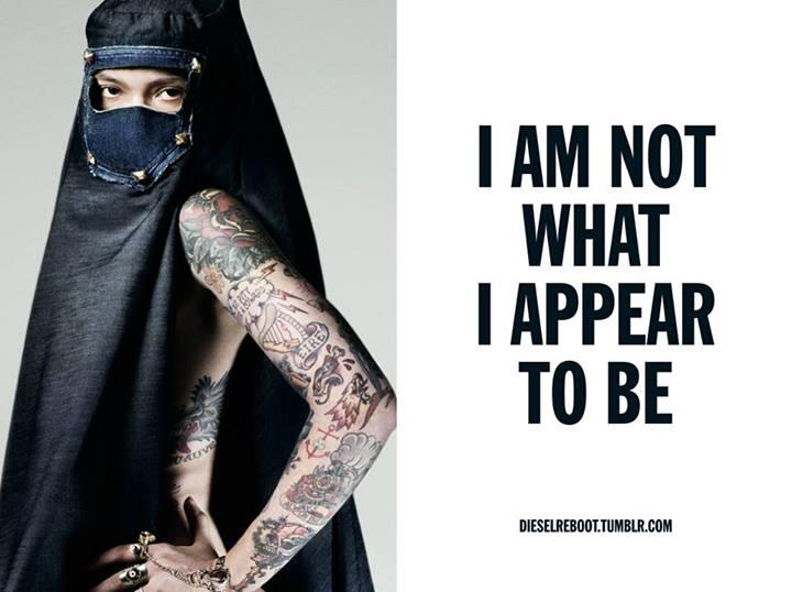 Diesel's burqa advertisement: did they go too far? | Morocco World ...