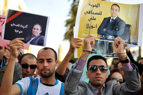 Fifty Moroccan Journalists Abroad in Hunger Strike to Support Ali Anouzla