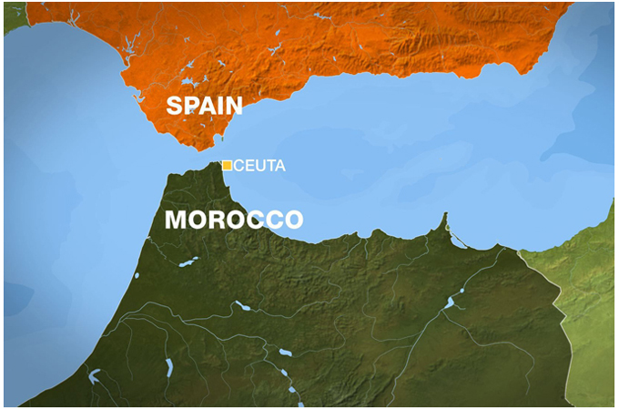 Morocco and Spain
