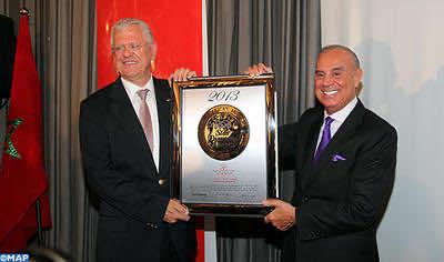 RAM being awarded the prestigious the International Five Star Diamond Award