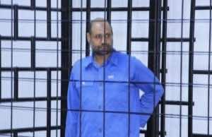 Saif al-Islam Gaddafi, son of late Libyan leader Muammar Gaddafi