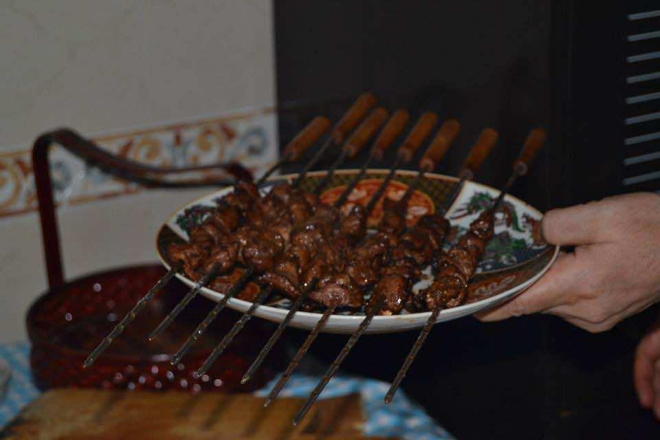 Eid Al Adha. The Moroccan Kebab (Boulfaf) Photo by MWN