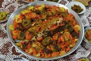 Fish Moroccan Style