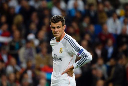 Real Madrid's Gareth Bale, seen during their Champions League match against Juventus, at the Santiago Bernabeu stadium in Madrid, on October 23, 2013 (AFP:File, Gerard Julien)