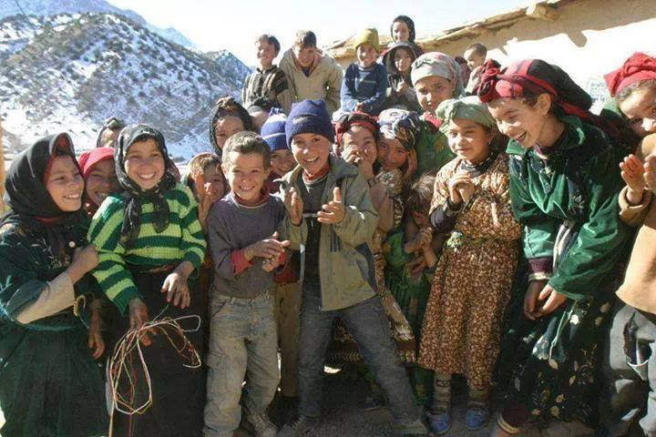 Children of Azilal Morocco