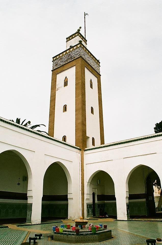 Kenitra City in Morocco. A photo of a mosque. Photo by Mouloud Zoubir-MWN