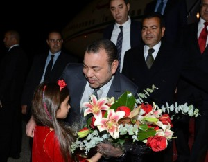 King Mohammed VI in Washignton