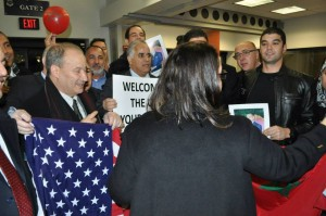 Moroccans greet King Mohammed VI in washington