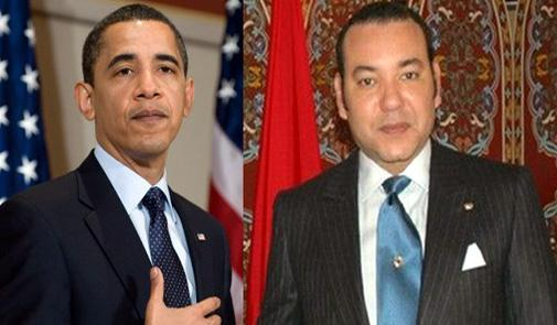 President Barack Obama and King Mohammed VI of Morocco