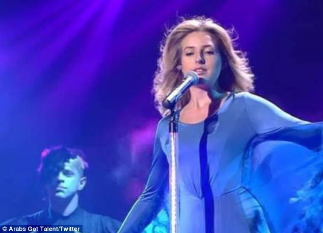 American Jennifer Grout earns second spot in Arabs Got Talent