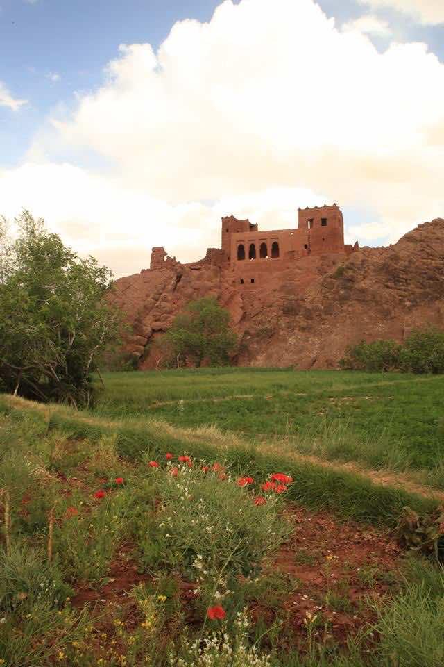 Kasbah Near Boulmene-Dades