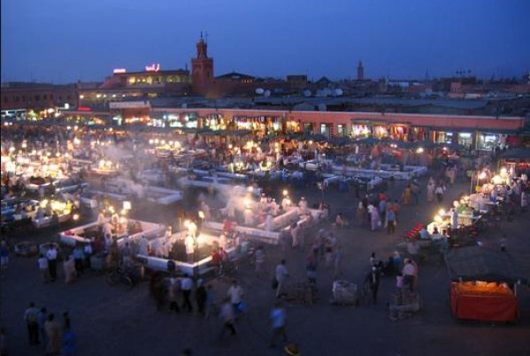 Marrakech's Djemma El-Fna, third most beautiful square in the world