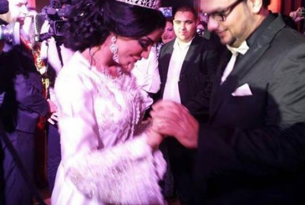 Moroccan singer Dounia Batma celebrates her wedding in Casablanca