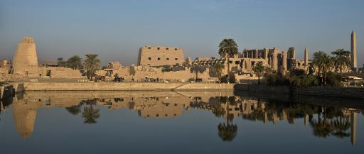 The Temple of Karnak, in the southern Egyptian city of Luxor, December 21, 2013 (AFP, Khaled Desouki)