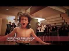Young dragon, Moroccan American prodigy, Nassim Lahrizi