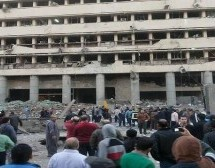 Car bomb at Cairo police HQ kills at least one: officials
