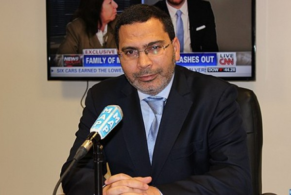 Communication minister, government spokesperson Mustapha El Khalfi