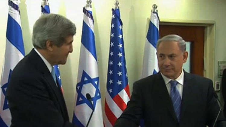 John Kerry met Israeli Prime Minister Benjamin Netanyahu