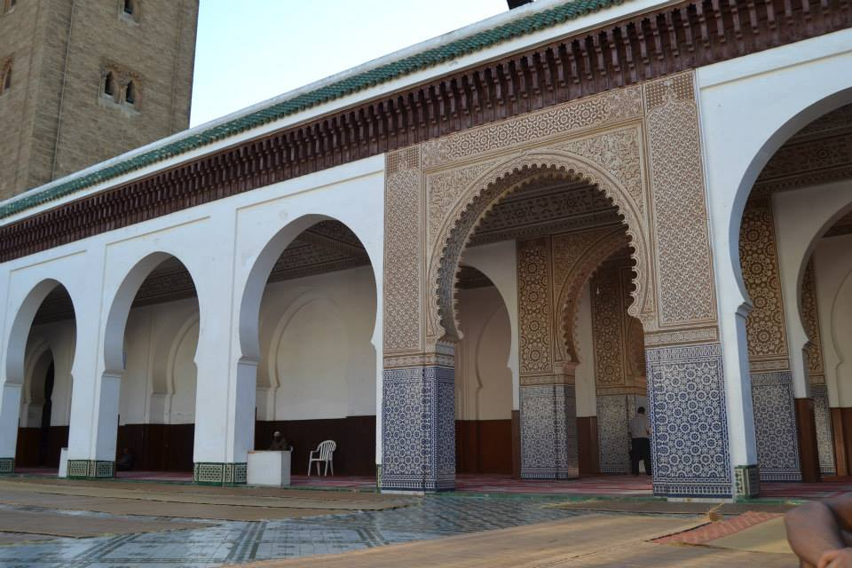 Moroccan Mosque in Rabat