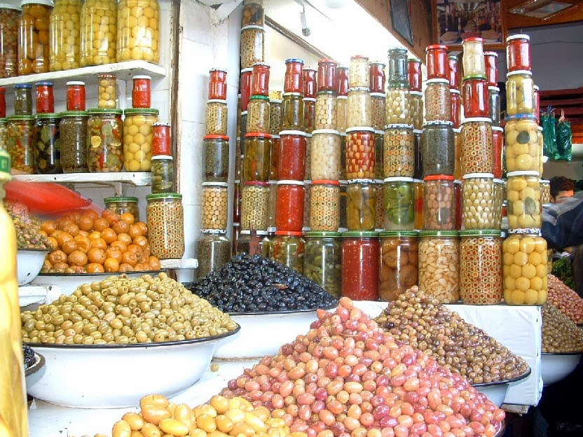 Moroccan olives, Photo by Yousef Ammaou