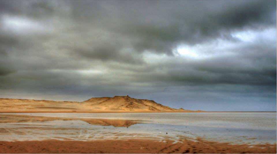 Moroccan sky in the Sahara.