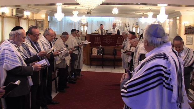 Morocco Jewish community performs rain seeking prayers