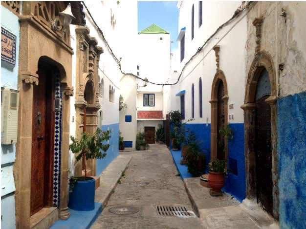 Oudaya in Rabat, Morocco