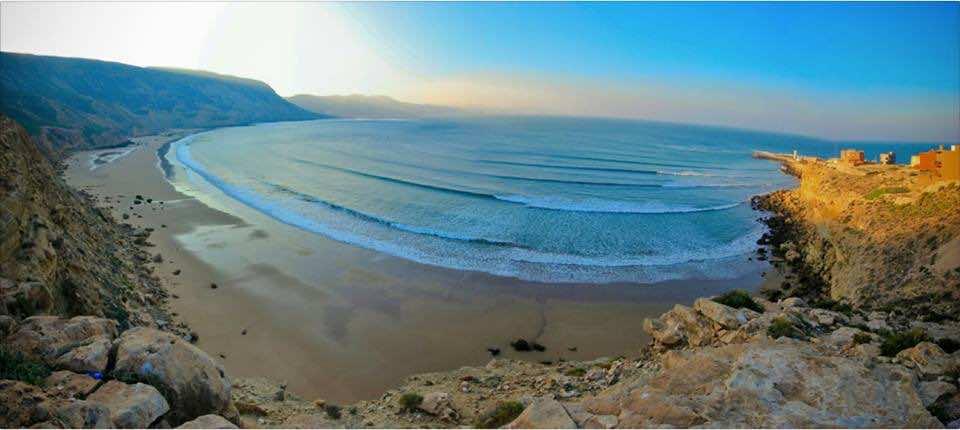 The Beach of Mirleft near Sidi Ifni Morocco