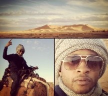 In pictures: American star Usher enjoying Morocco