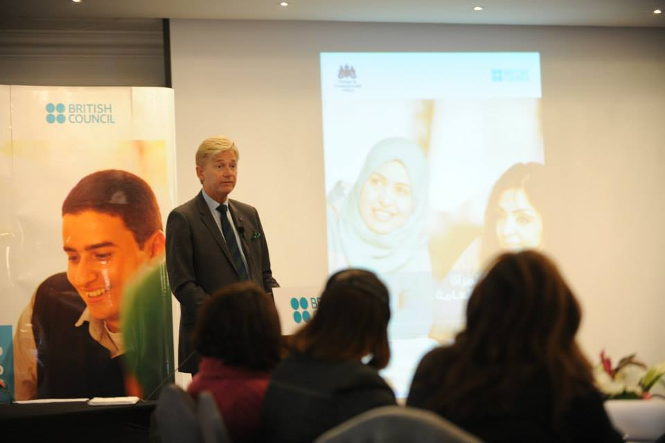 the British ambassador in Morocco, Mr. Clive Alderton
