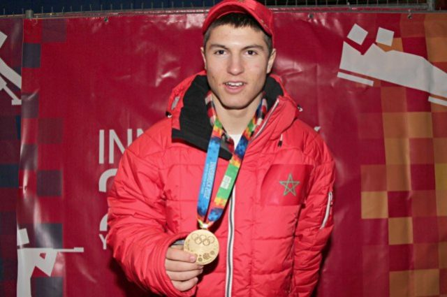 Adam Lamhamedi proud to represent Morocco at the Olympic Games