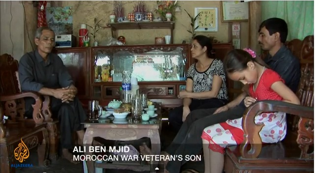Ali Ben Mjid, Moroccan war Veteran's son