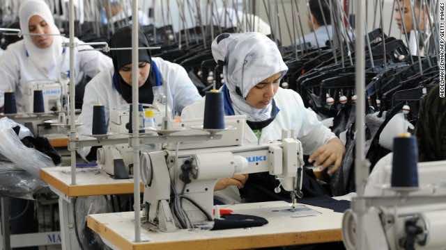 Casablanca textile factory