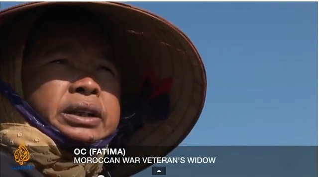 Fatima, Moroccan war veteran's widow