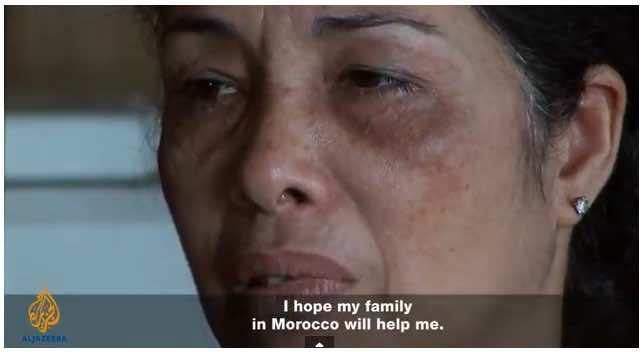 Habiba, Moroccan war veteran's daugter