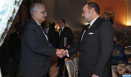 King Mohammed VI receives Indian FM in Marrakech