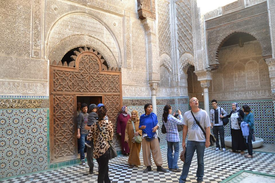 Mederssa of Bounania in Fez, Morocco, tourism