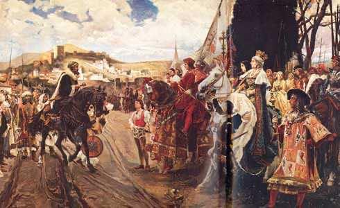 Moors surrender Granada to Spain (reformation.org)