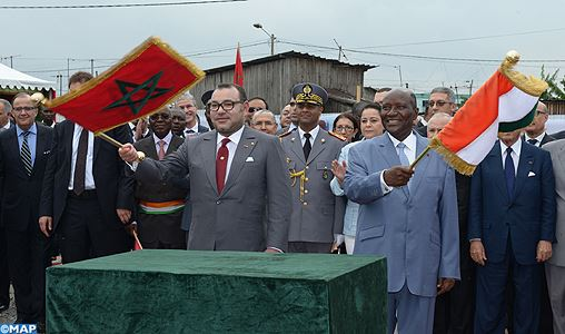 Morocco-Cote D'Ivoire- King Mohammed VI launch projects of over 8,000 low-cost housing units
