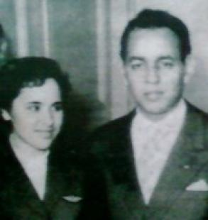 Morocco's Touria Chaoui with late King Hassan II