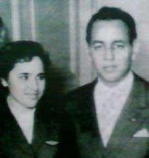 Morocco's Touria Chaoui with late King Hassan II