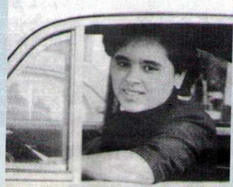 Morocco's first pilot, Touria Chaoui
