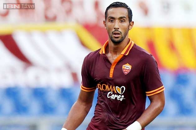 Morocco's international player Mehdi Benatia