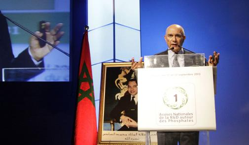 Mostapha Terrab, CEO of OCP group
