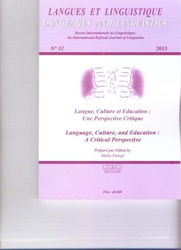 """Review of the 32nd Issue of """"Languages and Linguistics"""""""
