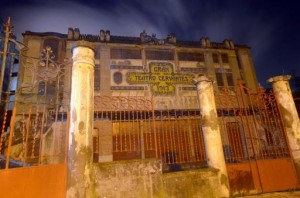 The Cervantes theatre, pictured in the Moroccan city of Tangiers, on January 22, 2014